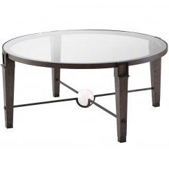 Theodore Alexander Round Coffee Table Rivoli