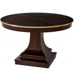 Theodore Alexander Round Dining Table Hailey
