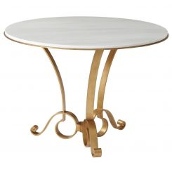 Theodore Alexander Round Dining Table Mandeville