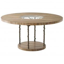 Theodore Alexander Round Dining Table Wynwood