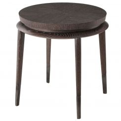 Theodore Alexander Round Side Table Henning