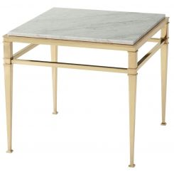 Theodore Alexander Side Table Annalynn - Marble