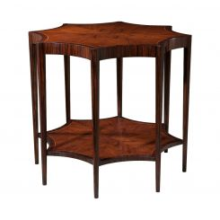 Theodore Alexander Side Table Art Deco Spider