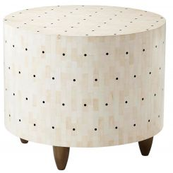 Theodore Alexander Side Table Dot!