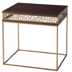 TA Studio Side Table Frenzy - Brass base