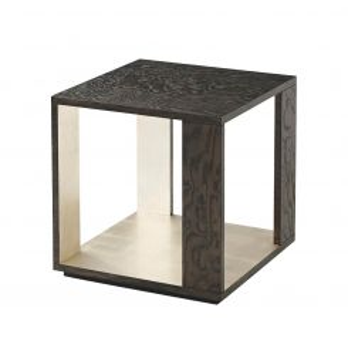 Theodore Alexander Side Table Platinum Tamo