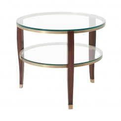 Theodore Alexander Side Table Seeing Double