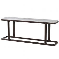 Theodore Alexander Inherit Console Table - Marble