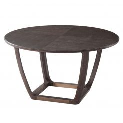 Theodore Alexander Converge Oak Dining Table - Cigar Club