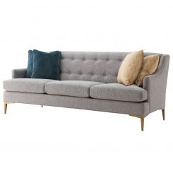 TA Studio Large Sofa Elaine in Pewter
