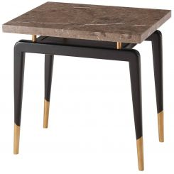 Theodore Alexander Square Side Table Carlo